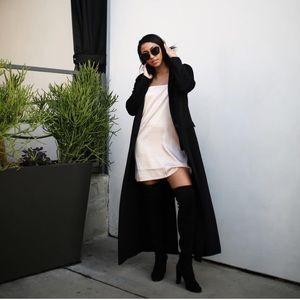 Zara Long Black Trench Coat